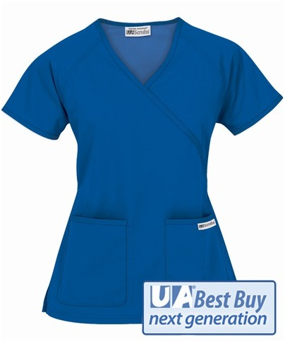 Style# 66 UA Best Buy Next Generation Mock Wrap Scrub Top