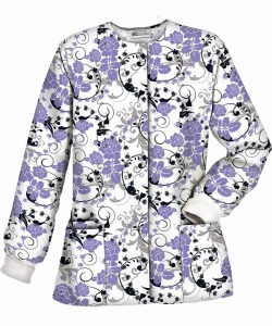UA Best Buy tango Rose Dark Lilac Warm-Up Jacket ~ PC81TRD