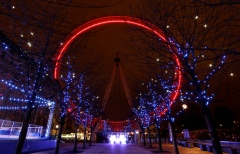 London Eye on World AIDS Day