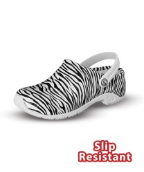 Anywhere Women's Zone Clog in Zebra