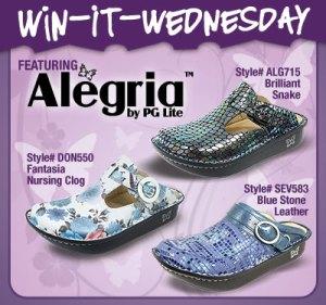 Alegria Win it Wednesday