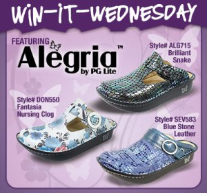 Alegria Win it Wednesday