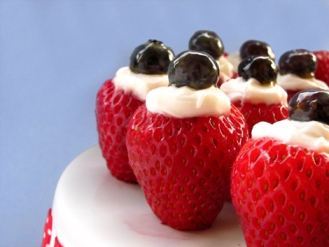 Creme Filled Strawberries