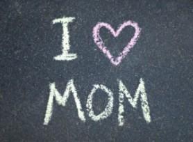 I heart mom