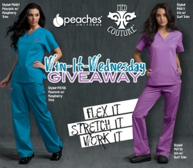 Peaches Med Couture Scrubs Uniform Advantage