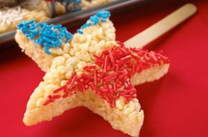 Rice Krispie Stars
