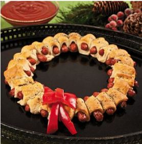 Sausage Wreath
