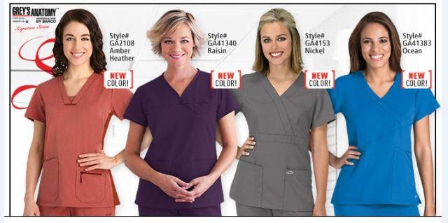 Grey's Anatomy Scrubs at Uniform Advantage