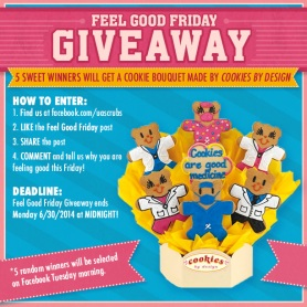 Uniform Advantage's Feel Good Friday Contest sponsored by Cookies by Design