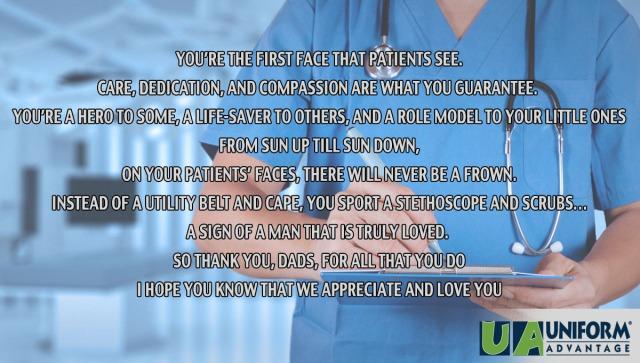 Nurse Dad Poem