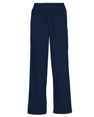 Butter-Soft Scrubs by UA™ Women's Elastic Waist Pants,  Style # UA36C – Navy