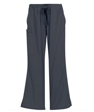 Butter-Soft Scrubs by UA™ Women's Drawstring Pant with Elastic Waist Back, Style # UA47C - Pewter