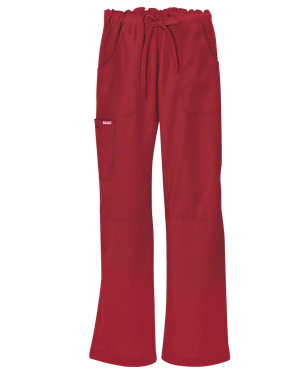 Butter-Soft Scrubs by UA™ Women's 6 Pocket Cargo Drawstring Pant, Style # UA32C – Cherry Berry