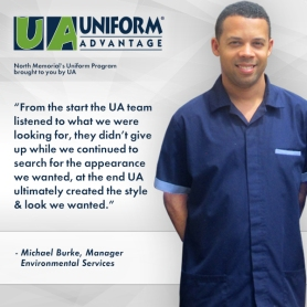 North Memorial's Uniform Program brought to you by Uniform Advantage - Corporate Testimonial