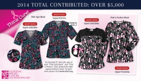 Uniform Advantage partners with the National Breast Cancer Foundation   to continue raising awareness for early detection for Fall 2014