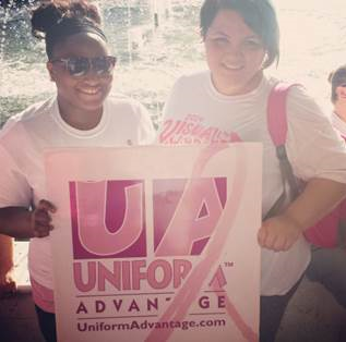 Team UA Making Strides Walk in Fort Lauderdale, Florida