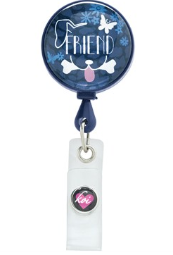Vet Tech Koi Scrubs Best Friend Badge Reel Style #  K101FRN found on bloguniformadvantage.com