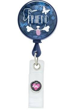 Vet Tech Koi Scrubs Best Friend Badge Reel Style #  K101FRN found on bloguniformadvantage.com