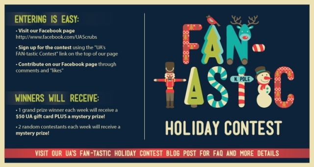 Uniform Advantage's FAN-tastic Holiday Contest: A Month of Mystery