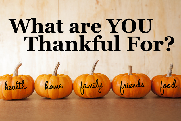 21 things to be thankful for every day