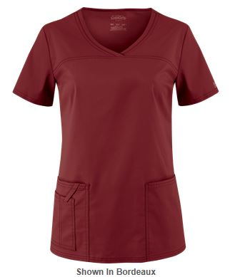 Marsala Color for 2015 - Cherokee Workwear Scrubs Premium Core STRETCH V-Neck Top_Style CK4727