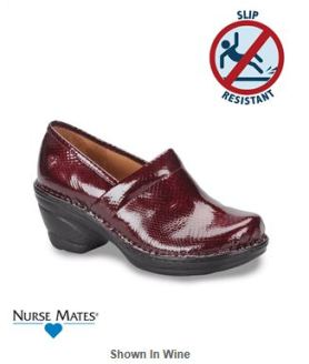 Marsala Color for 2015 - Nurse Mates Halle Slip On Nursing Shoe _Style HALLE