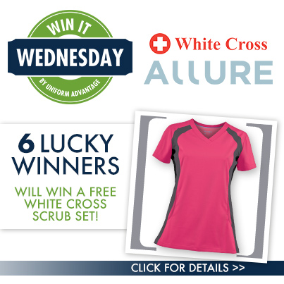 White Cross Scrubs from UniformAdvantage.com