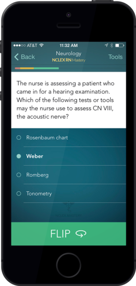 NCLEX Mastery Nurse App - 5 Great Apps for Nurses to Make Life Easier
