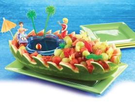 Watermelon - Popular fruit in August