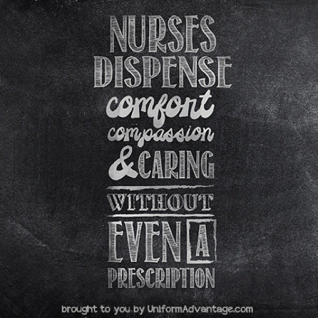 UA 2015 Nurse Meme - Nurses dispense comfort