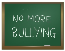 Stomp out bullying with Uniform Advantage's No More Bullying White scrub print