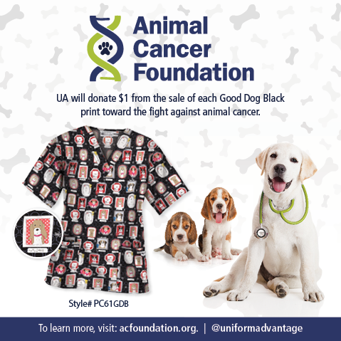 Uniform Advantage partners with Animal Cancer Foundation to help find a cure to pet cancer