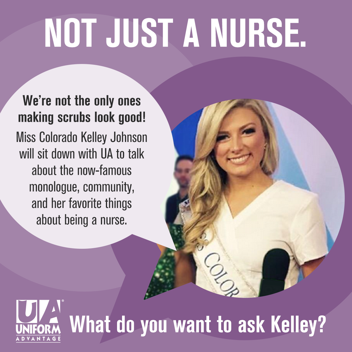 ua a day in scrubs uawhat do you want to ask kelley johnson miss colorado 2015