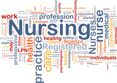 Nursing background concept