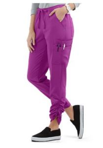 Easy STRETCH by Butter-Soft™ Ruched Leg Jogger Scrub Pants