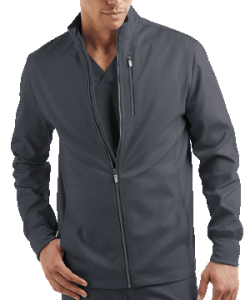 Advantage STRETCH for Men Zip Front Warm-Up Scrub Jacket