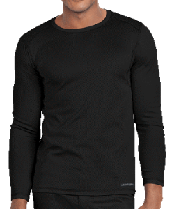 Advantage for Men Long Sleeve Crew Neck Tee