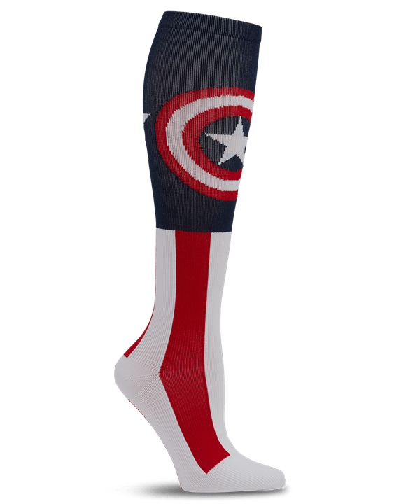 Tooniforms Men's The Super Soldier Print Support Compression Socks - 8-15 mmHg